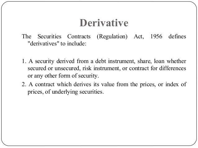 Derivatives Slide 2