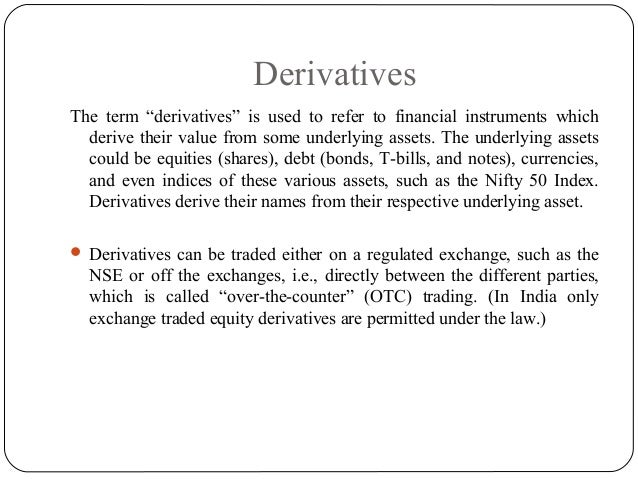 Derivatives Slide 3