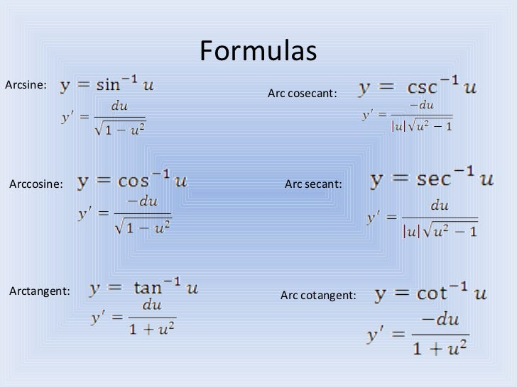 how to add inverse trig functions
