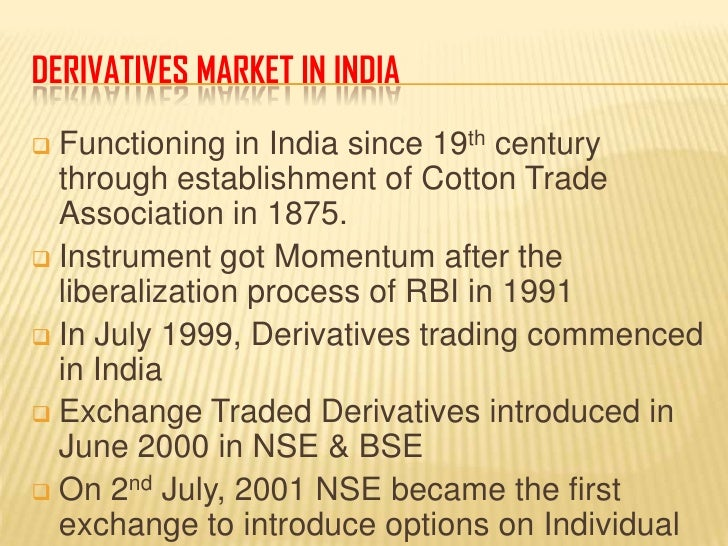 Trade system in india