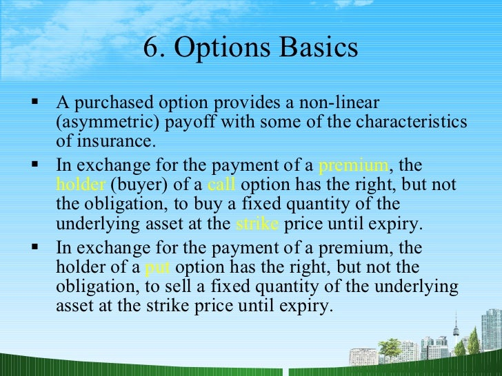 Introduction to options trading de weert pdf
