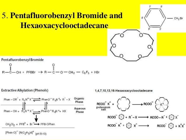 5. Pentafluorobenzyl Bromide andHexaoxacyclooctadecane