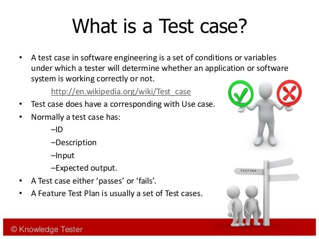Deriving testcases