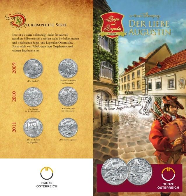 Jetzt ist die Serie vollständig. Sechs fantasievoll  gestaltete Silbermünzen erzählen sechs der bekanntesten  und beliebte...