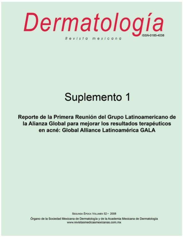 DERECHOS RESERVADOS DermatologíaR e v i s t a m e x i c a n a Fundada en 1956 Registrada en: - Excerpta Médica - Index Med...