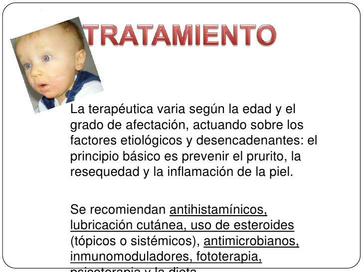 Las vitaminas para los niños con atopicheskim por la dermatitis