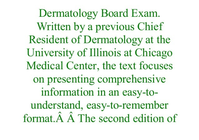 E-Book] Dermatology: Illustrated Study Guide and