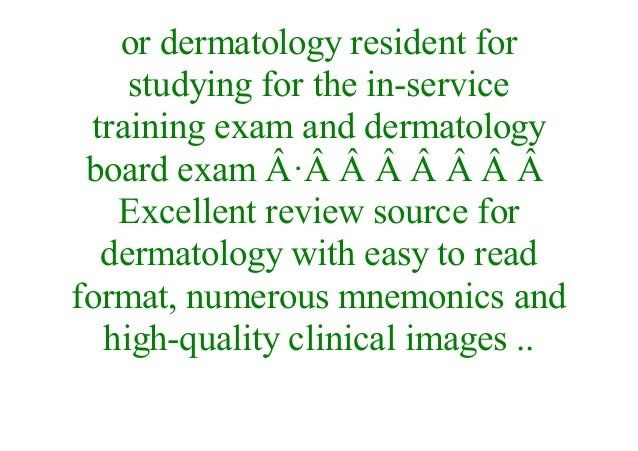 E-Book] Dermatology: Illustrated Study Guide and Comprehensive Board…