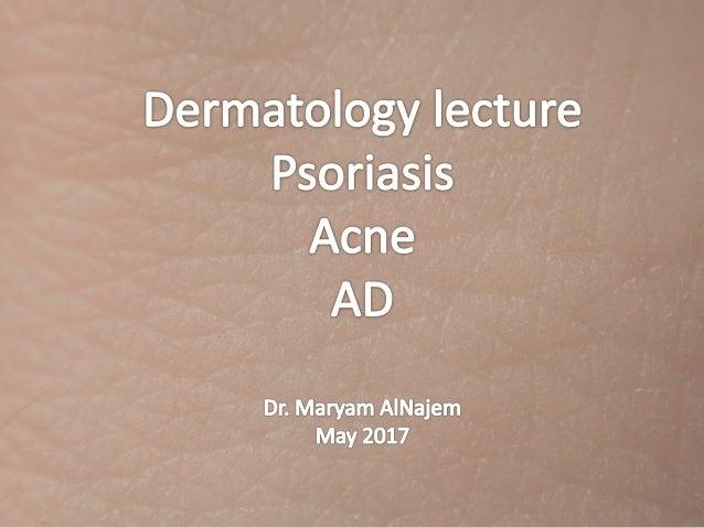Dermatology Lecture Notes Pdf
