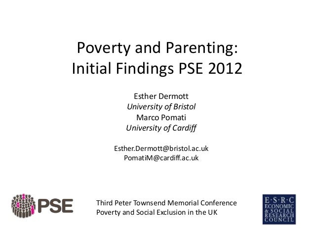 poverty and parenting The majority of american parents are doing well on key parenting indicators, despite some differences by family type but america has higher proportions of poor and low-income children than other developed nations, and poverty explains more differences in parenting practices than family structure.