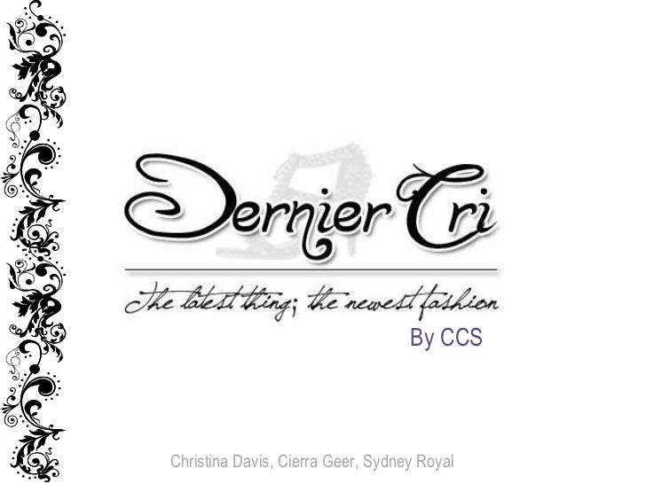 Christina Davis, Cierra Geer, Sydney Royal By CCS