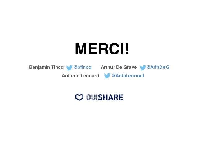 L'expédition  … Les premiers succès…  !  • Des startups réussissent : Blablacar, AirBnB,  Couchsurfing, LeBonCoin, Zilok, ...