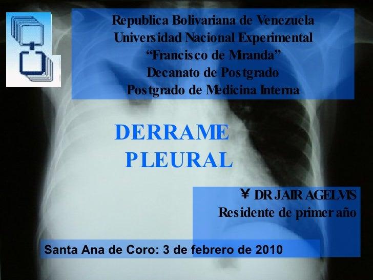 """Republica Bolivariana de Venezuela Universidad Nacional Experimental """"Francisco de Miranda"""" Decanato de Postgrado Postgrad..."""