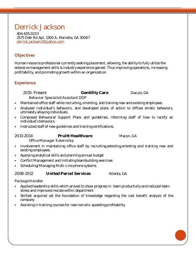 united parcel service human resources department