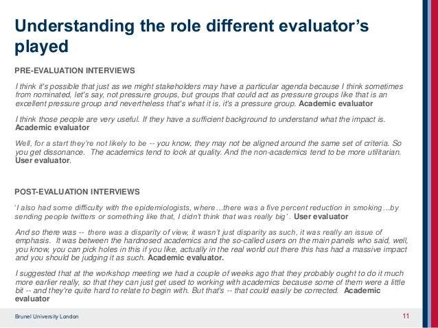 academic evaluator