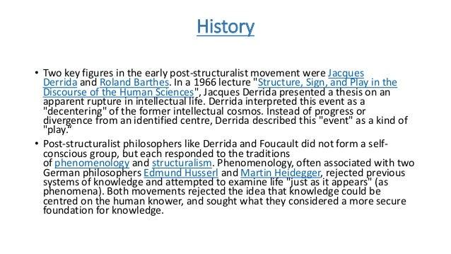 Deconstruction theory essays