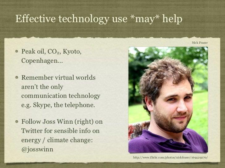 Effective technology use *may* help                                                                       Nick Fraser Peak...