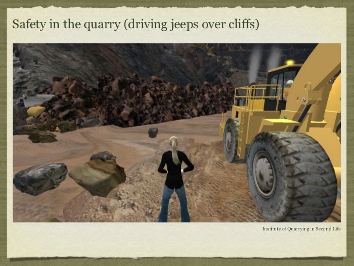 Safety in the quarry (driving jeeps over cliffs)                                                   Institute of Quarrying ...