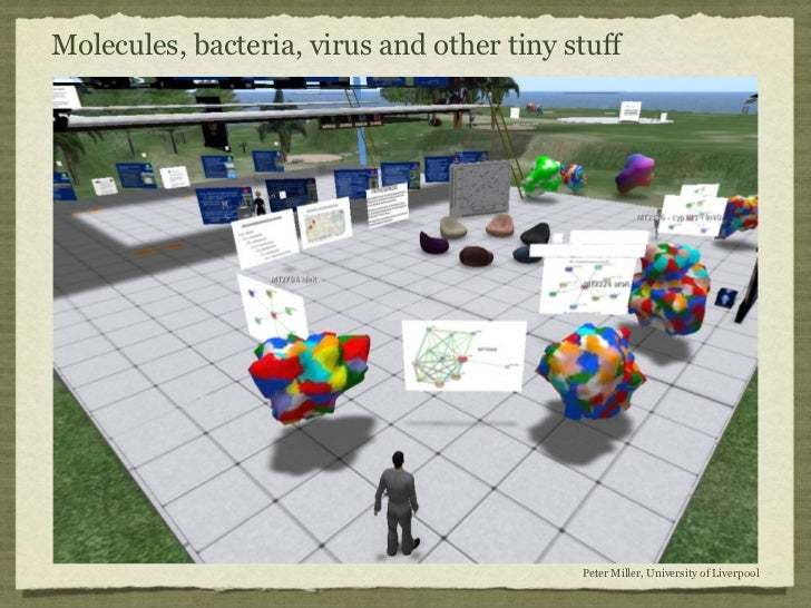 Molecules, bacteria, virus and other tiny stuff                                           Peter Miller, University of Live...