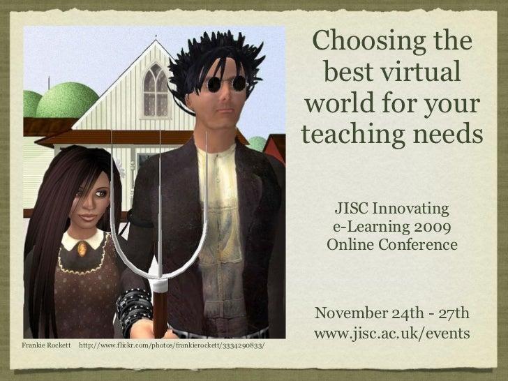 Choosing the                                                                              best virtual                    ...