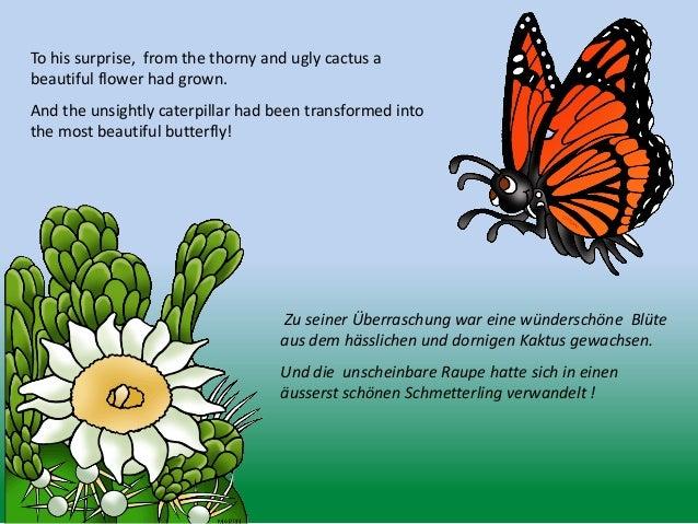 Der schmetterling und die blume - The Butterfly and the Flower Slide 3