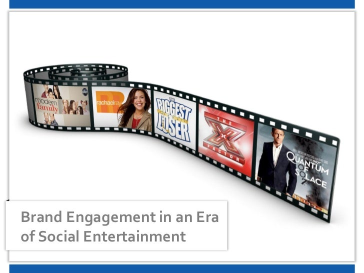 Brand Engagement in an Eraof Social Entertainment