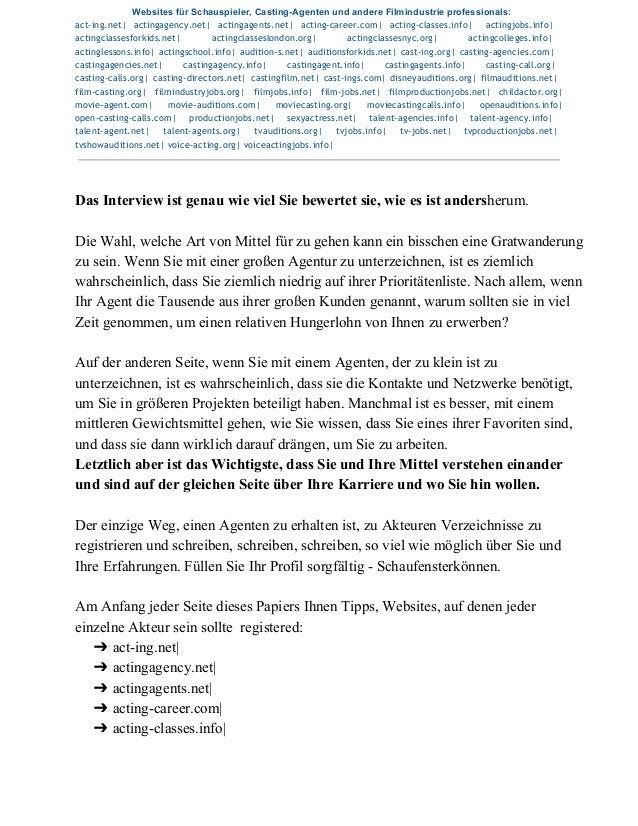 WebsitesfürSchauspieler,CastingAgentenundandereFilmindustrieprofessionals: act-ing.net| actingagency.net| acting...