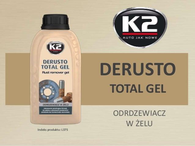 Indeks produktu: L375 DERUSTO TOTAL GEL ODRDZEWIACZ W ŻELU