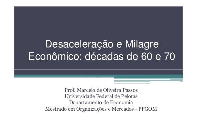 Milagre Economico