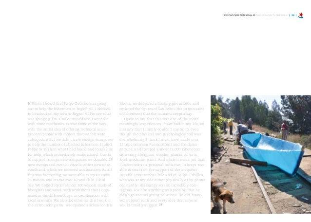 PESCADORES ARTESANALES / INDEPENDENT FISHERMEN | 45 | En esta caleta teníamos 330 hectáreas de cultivo de algas, pero con ...