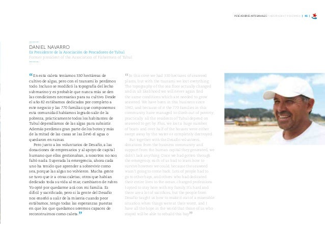"""Desafío estuvo estrechamente vinculado en la gestión del programa tripartito denominado """"Volvamos a la Mar"""", con el objeti..."""