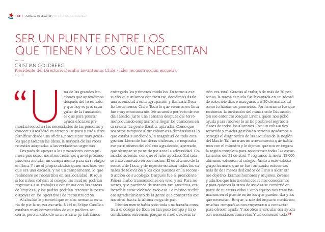 | 64 | ¿CUÁL ES TU DESAFIO? / WHAT IS YOUR CHALLENGE?