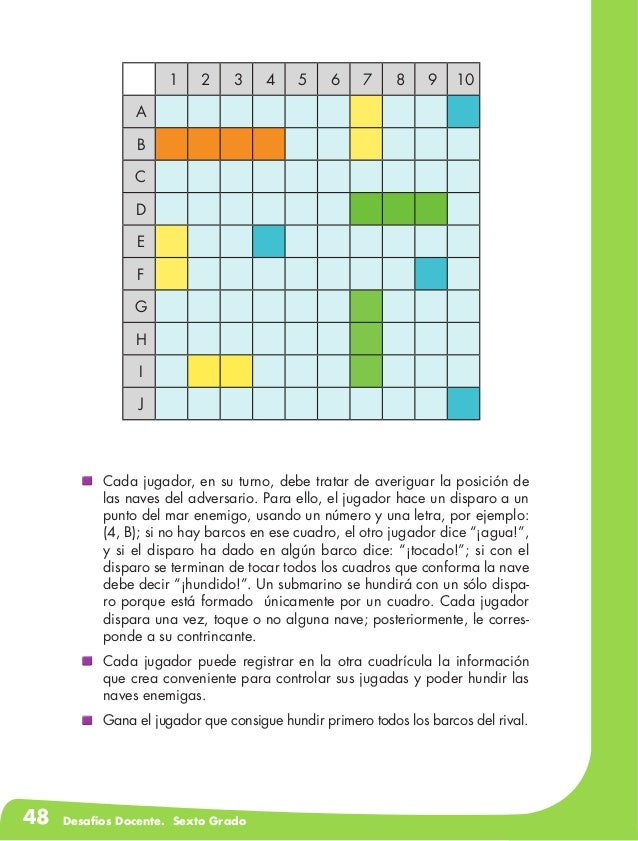 Desafios matematicos docente sexto grado for Paginas de chimentos argentina