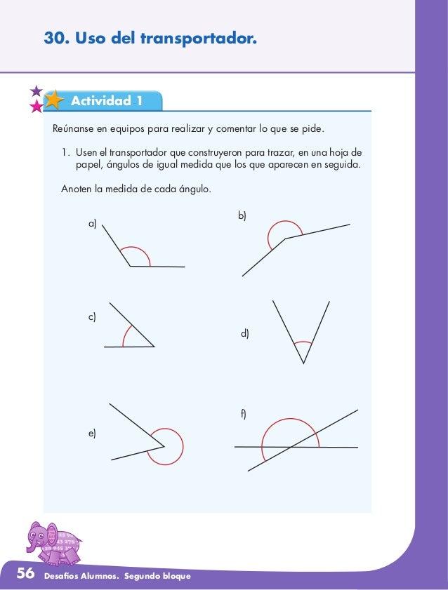 Desafios matemáticos para alumnos 4°