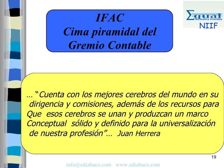 IFAC                           Normativa Contable                                                    NIIF           Cima p...