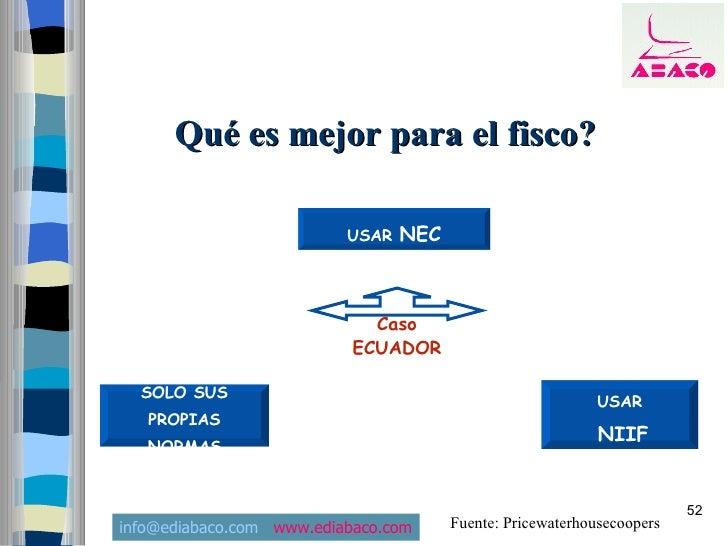 Qué es mejor para el fisco?                            USAR   NEC                                 Caso                    ...