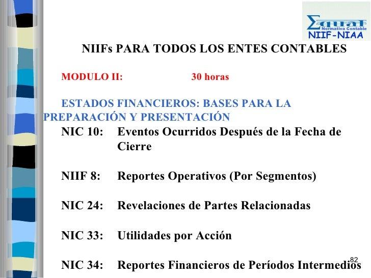 Normativa Contable                                                NIIF-NIAA      NIIFs PARA TODOS LOS ENTES CONTABLES    M...
