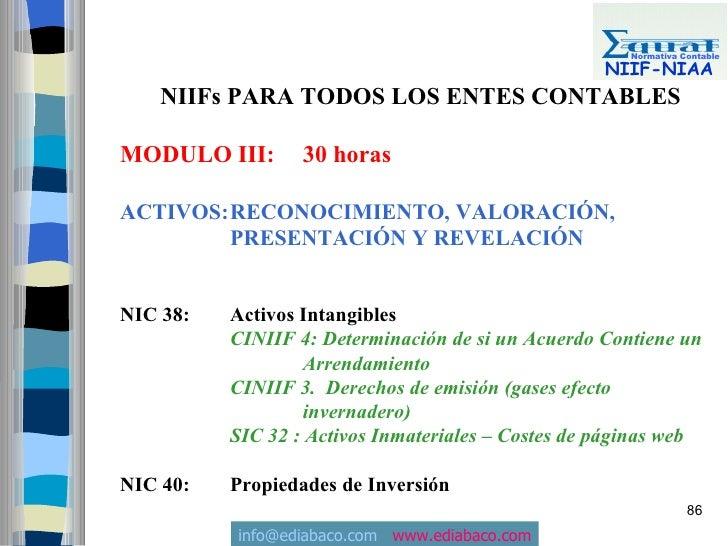 Normativa Contable                                                      NIIF-NIAA     NIIFs PARA TODOS LOS ENTES CONTABLES...