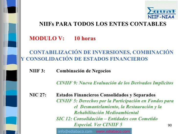 Normativa Contable                                                        NIIF-NIAA       NIIFs PARA TODOS LOS ENTES CONTA...