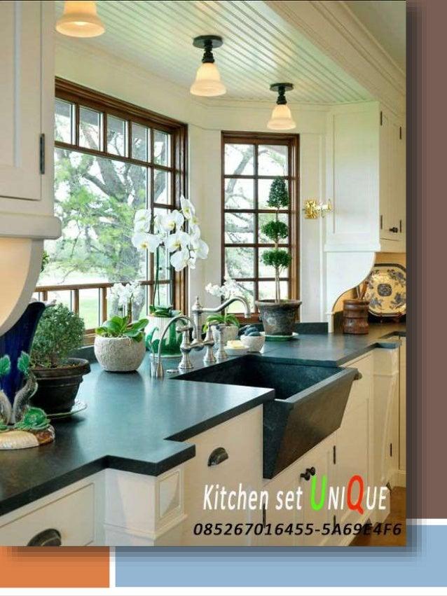 Desain Furniture Kitchen Set Minimalis Foto Desain Kitchen Set Minim