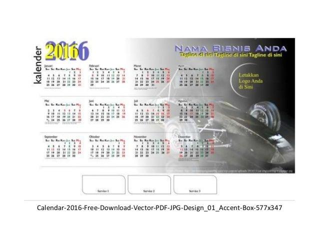 Calendar Design Cdr File Free Download : Desain kalender free download vector cdr pdf jpg
