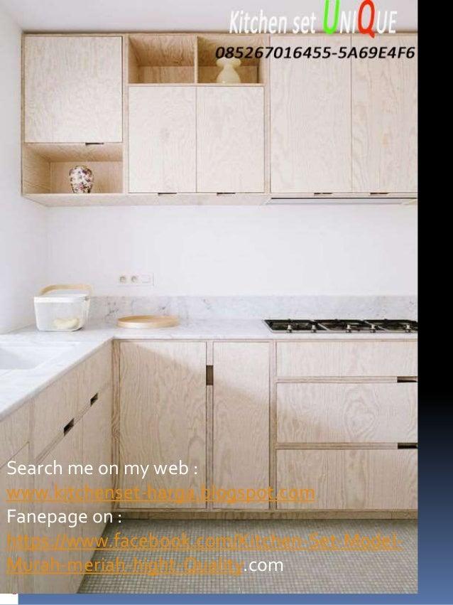 Desain Kitchen Set Untuk Dapur Mungil Harga Kitchen Set Jombang Kit