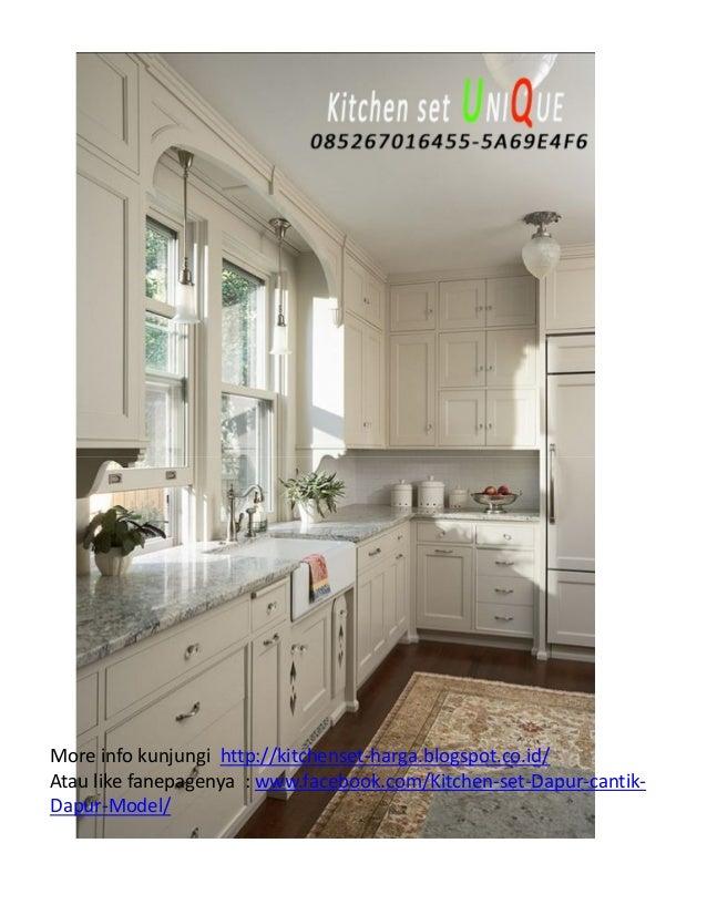 Desain Kitchen Set Untuk Dapur Sempit Harga Kitchen Set Custom Kitc