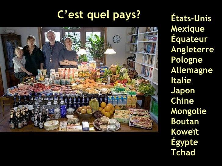 C'est quel pays? États-Unis Mexique Équateur Angleterre Pologne Allemagne Italie Japon Chine Mongolie Boutan Koweït Égypte...