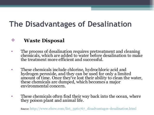 Desalination A Perennial Future