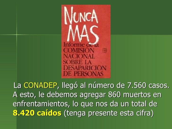 Resultado de imagen para la historia de los desaparecidos en argentina