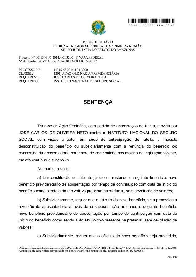 0 0 1 1 3 1 6 5 7 2 0 1 4 4 0 1 3 2 0 0  PODER JUDICIÁRIO  TRIBUNAL REGIONAL FEDERAL DA PRIMEIRA REGIÃO  SEÇÃO JUDICIÁRIA ...