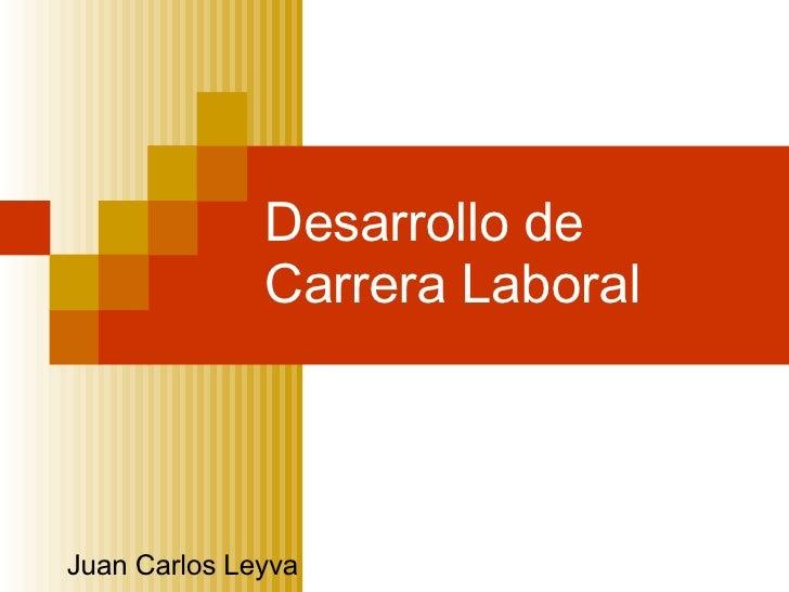 Desarrollo de Carrera Laboral Juan Carlos Leyva