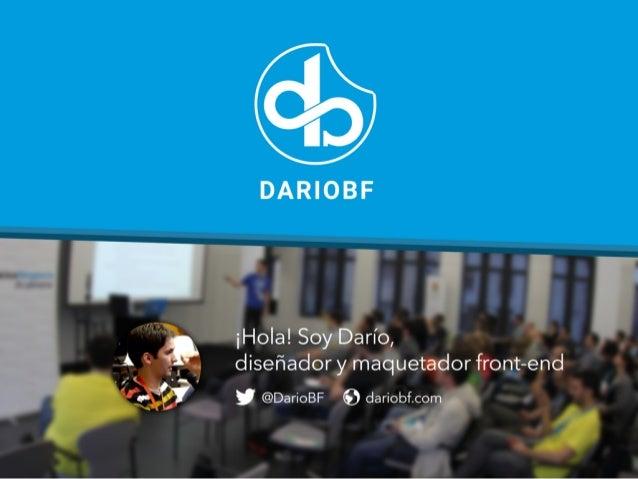 dariobf.com Desarrollo de Temas Archivos y plantillas del tema, Uso de plantillas, El Loop, Custom Post Types, Metaboxes, ...