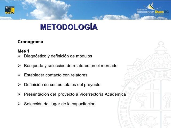 <ul><li>Cronograma </li></ul><ul><li>Mes 1 </li></ul><ul><li>Diagnóstico y definición de módulos </li></ul><ul><li>Búsqued...